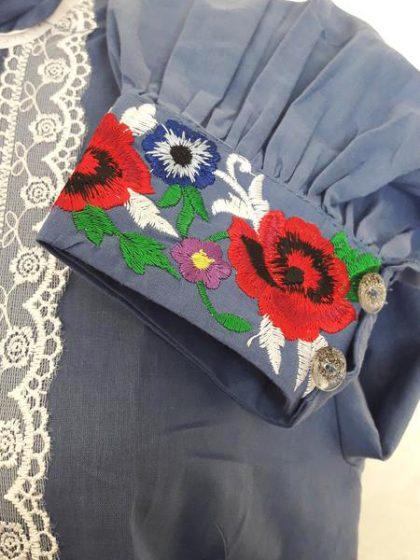Вишиванка Агнеса з вишивкою на батисті