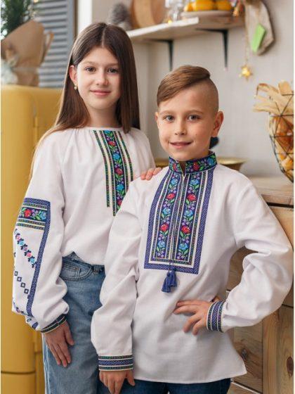 Блузка вишивана Бощівська