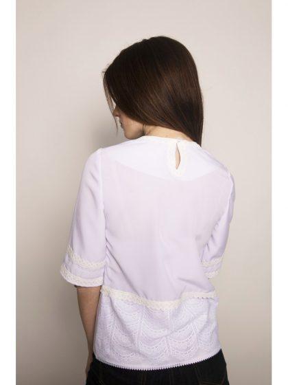 Блуза-вишиванка шовкова мальованка