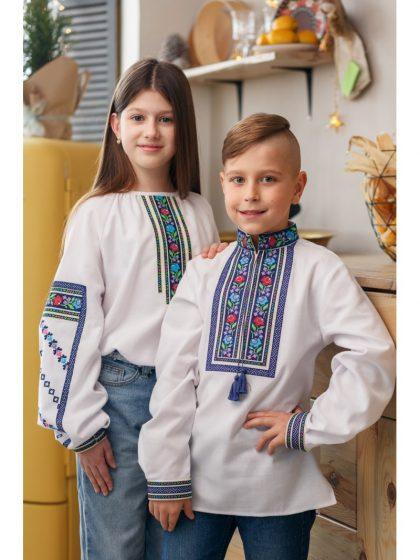Бощівські вишиванки для всієї родини