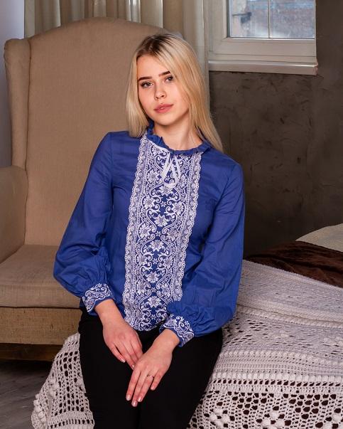 Вишита блуза Адель