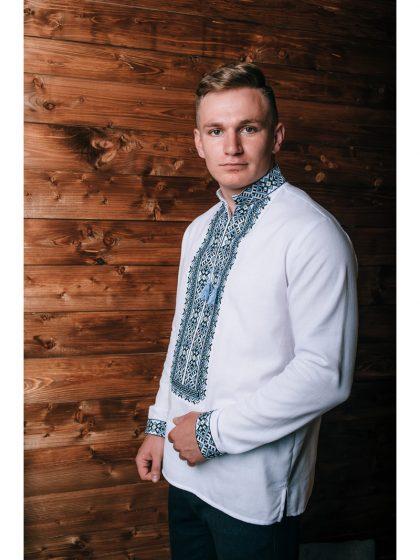 Чоловіча приталена сорочка