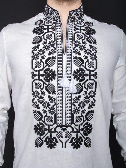 Чоловіча сорочка з льону