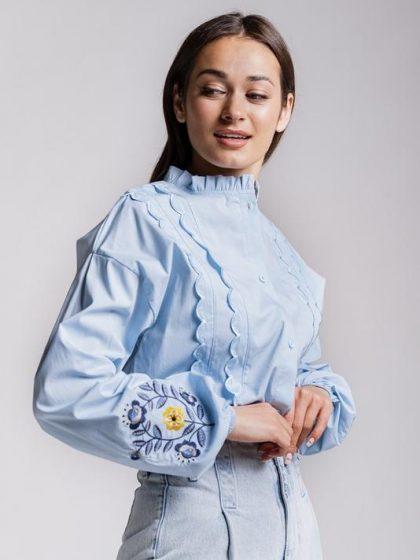 Блакитна вишиванка