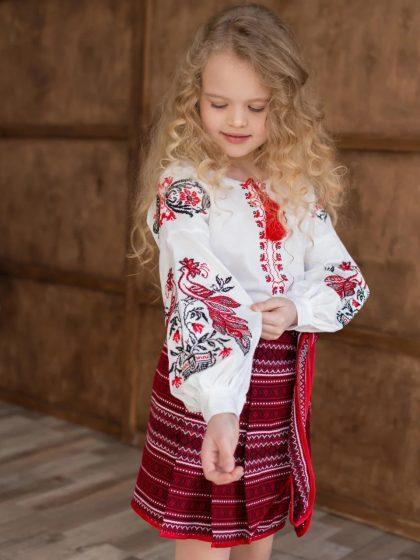 Блуза з вишивкою Жар-птиця