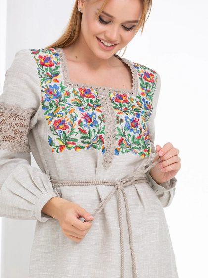 Сукня з вишивкою Квітка