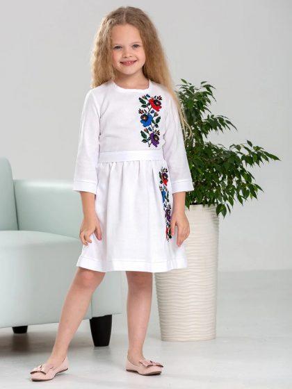 Вишивана сукня для дівчинки Мальва