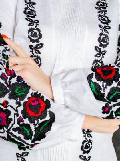 Блуза Іларія біла з льону