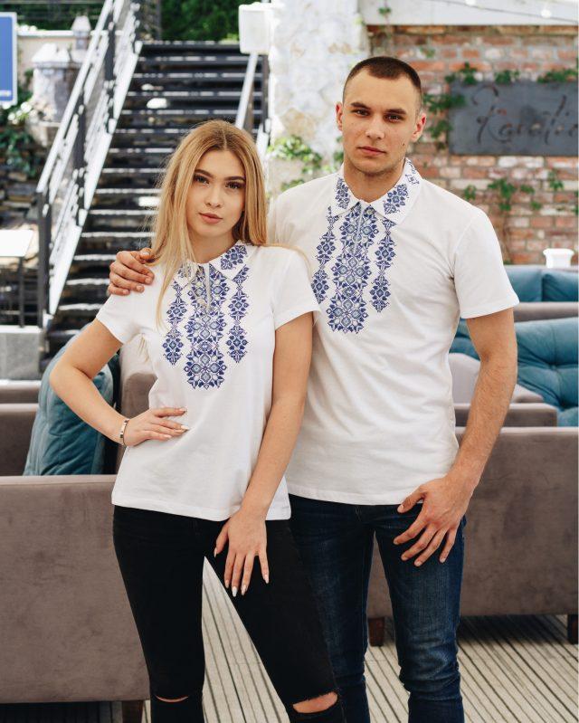 Комплект Руслан і Людмила білий з синім