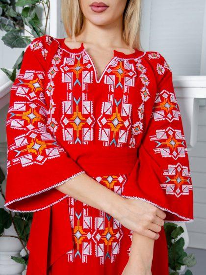 Сукня Геометрія червона