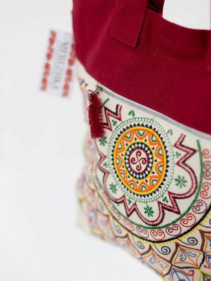Сумка з українською вишивкою Ярило